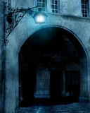 Vieille lanterne de rue Image stock