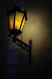 Vieille lanterne de ville Photo stock