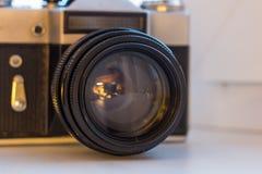 Vieille lentille photos libres de droits