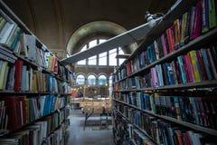 Vieille librairie Image libre de droits