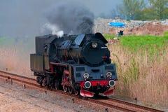Vieille locomotive à vapeur Images libres de droits