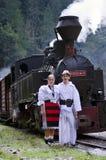 Vieille locomotive à vapeur Photos libres de droits