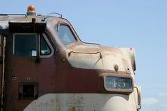 Vieille locomotive Images libres de droits