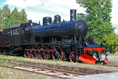 Vieille locomotive Photos libres de droits