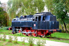 Vieille locomotive, faite dans Resita Image stock