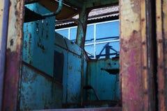 Vieille locomotive rouillée Photos libres de droits