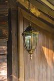 Vieille lumière de lanterne Image stock