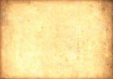 Vieille lumière de papyrus de cru Image stock