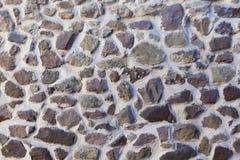 Vieille maçonnerie en pierre Texture de fond Image libre de droits