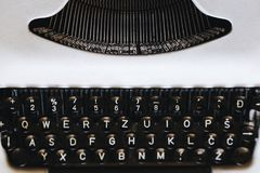 Vieille machine à écrire photos libres de droits