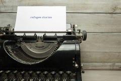 Vieille machine à écrire Image libre de droits