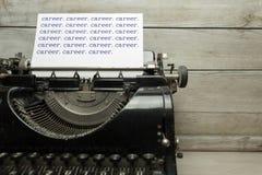 Vieille machine à écrire Photographie stock