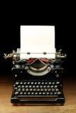 Vieille machine à écrire de cru Photographie stock