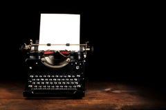 Vieille machine à écrire de cru Photos libres de droits