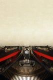 Vieille machine à écrire de cru Photo stock