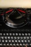 Vieille machine à écrire de cru Images libres de droits