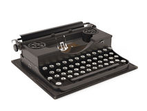 Vieille machine à écrire de vintage Photographie stock libre de droits