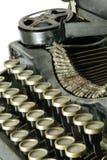 Vieille machine à écrire, groupe Photos stock