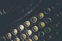 vieille machine à écrire rouillée photographie stock