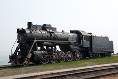Vieille machine à vapeur Image libre de droits