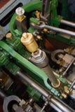 Vieille machine à vapeur de bateau Photo libre de droits