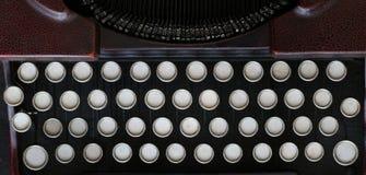 Vieille machine classique de machine à écrire - clavier vide Photographie stock