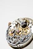 Vieille machine d'horloge photographie stock