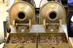 Vieille machine de haricots de café Image libre de droits
