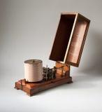 Vieille machine de steampunk de vintage Images stock