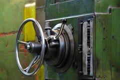 Vieille machine de usinage Photographie stock