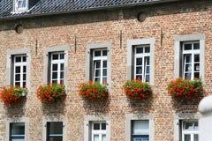 Vieille maison à Aix-la-Chapelle Images stock