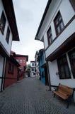 Vieille maison à Eskisehir Photographie stock libre de droits