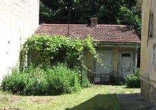 Vieille maison à Novi Sad Photographie stock libre de droits