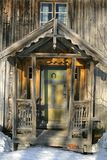 Vieille maison abandonnée Photo stock