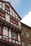 Vieille maison allemande Image libre de droits