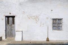 Vieille maison avant, Grèce Image stock
