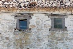 Vieille maison blanche Photo stock