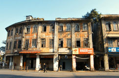 Vieille maison chinoise Image libre de droits