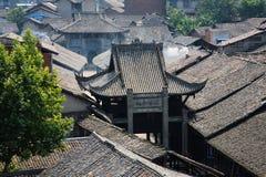 Vieille maison chinoise Photo libre de droits
