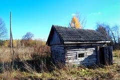Vieille maison délabrée Image libre de droits