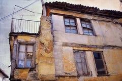 Vieille maison détruite images libres de droits