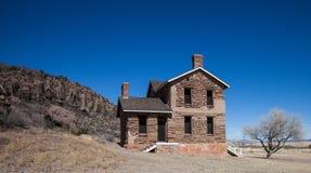 Vieille maison d'Adobe photos stock