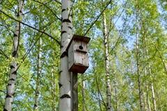 Vieille maison d'oiseau Images stock