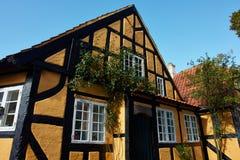 Vieille maison danoise traditionnelle images libres de droits