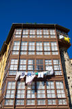 Vieille maison dans IIanes, Asturies Au nord de l'Espagne Photographie stock