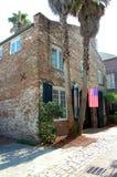 Vieille maison dans la ville de Charleston Photo libre de droits