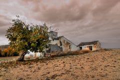 Vieille maison dans le hdr en Espagne Images libres de droits