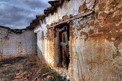 Vieille maison dans le hdr en Espagne Photographie stock libre de droits