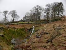 Vieille maison dans le snowdonia, Pays de Galles, R-U Photo stock
