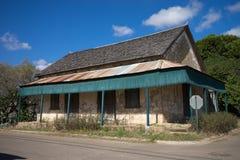 Vieille maison dans le Texas image libre de droits